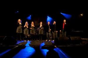 Die A-Cappella-Gruppe str8voices aus Hannover