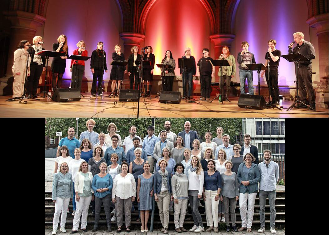Sounddrops & VocalExpress singen Pop-Perlen