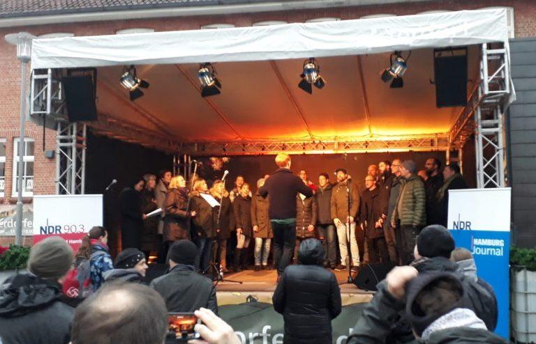 Alsterdorfer Advent_Bühne